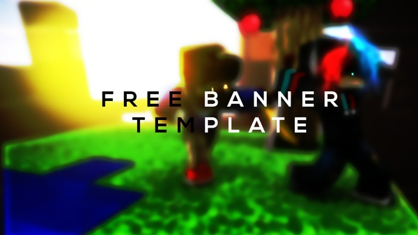 Free banner template (By ItzNeon-GFX)