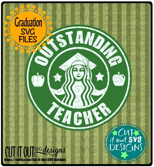 Outstanding Teacher Starbucks Logo Design 1
