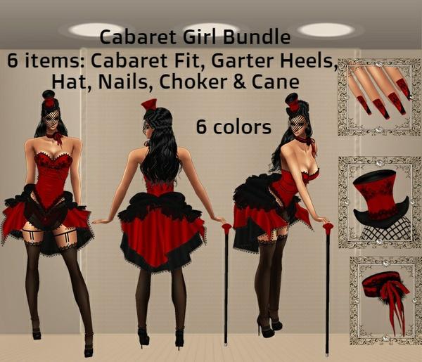 WNT -36 Cabaret Girl Bundle