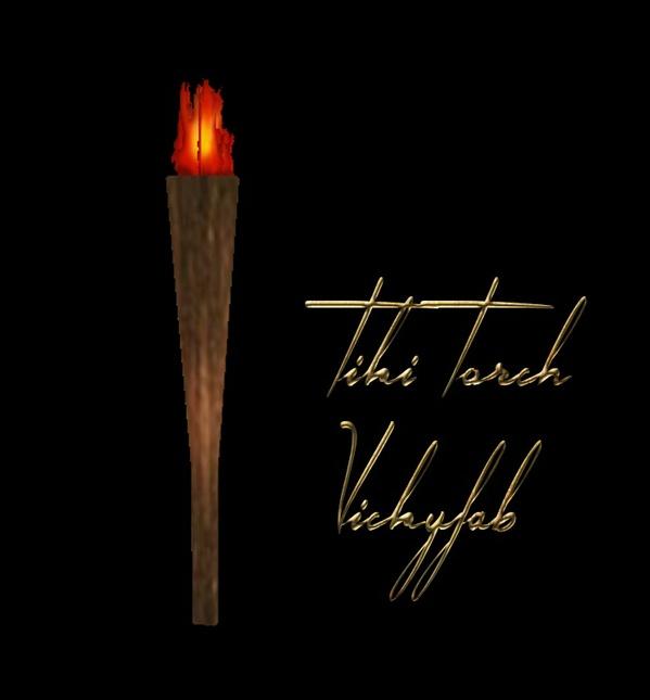 2016 Tiki Torch Mesh