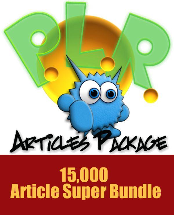 15000 Monster PLR Articles