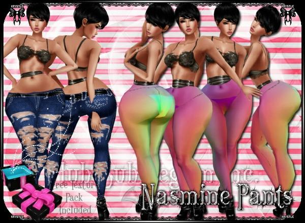 💎 Nasmine Pants Mesh