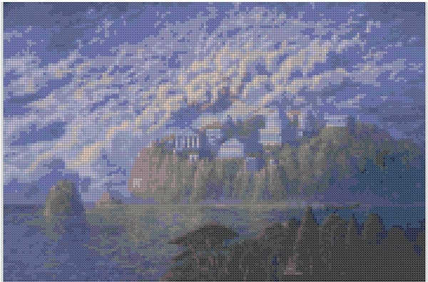 cross stitch pattern Mar-039c