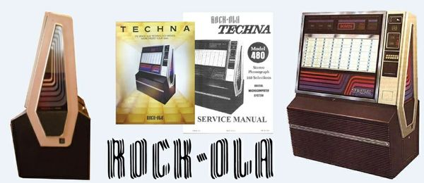 Rock-Ola Techna Service Manual 1979-80