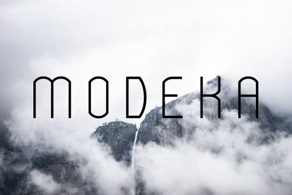 Modeka Font