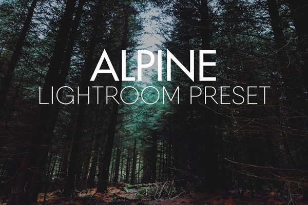 ALPINE Lightroom Preset