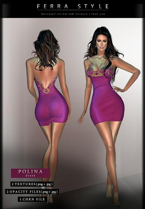 :: POLINA DRESS ::