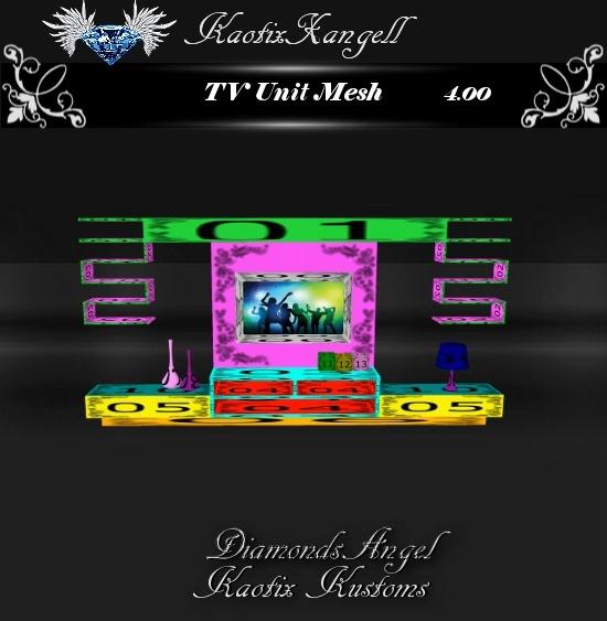 TV Unit Mesh