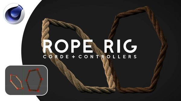 Rope Rig - [Cinema 4D] - With Reaper X Plugin