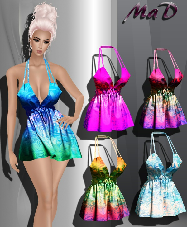 MaD MD Spring Dress  5 colors  ONLY CATTY