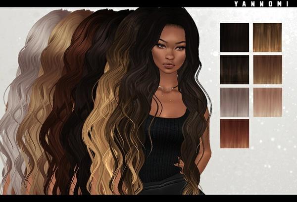 IMVU HAIR TEXUTRE PACK - desire