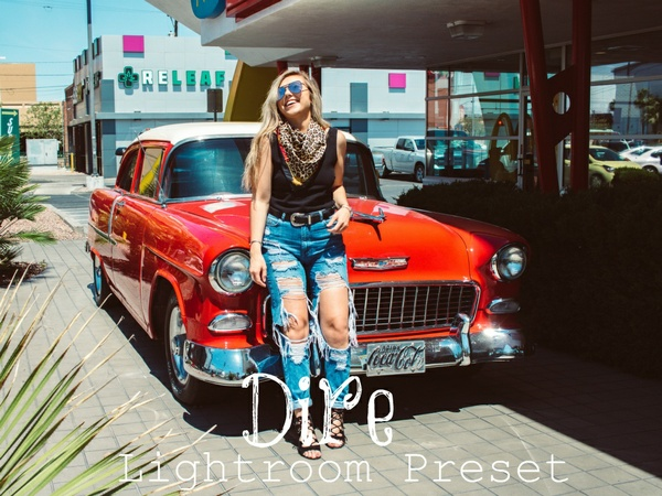 Dire - Lightroom Preset