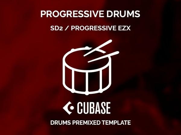 Superior Drummer 2 PROGRESSIVE EZX / Cubase Project + Preset