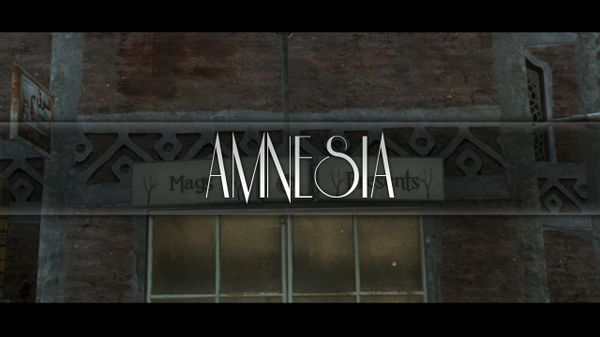 Amnesia PROJECT FILE