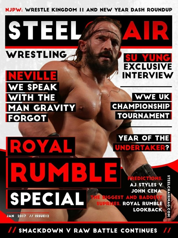 SteelChair Wrestling Magazine #12