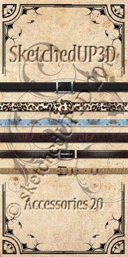 Accessories 20 - Belt Textures