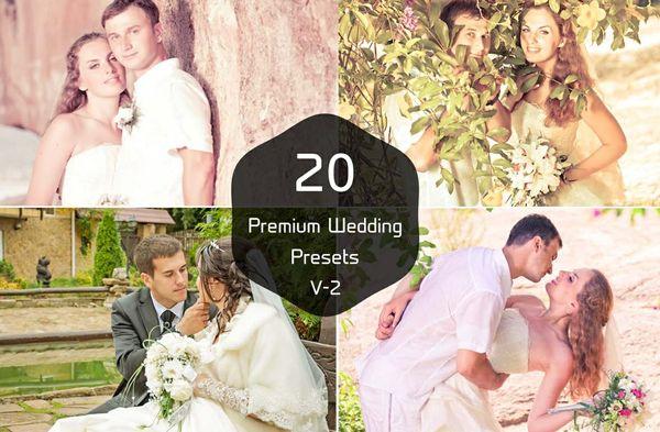 20 Wedding Photography Pro Lightroom Presets V-2