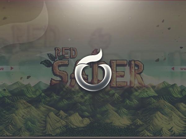 """Stardew Valley"" Red Sader Header PSD"