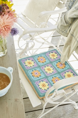 Granny Square Chairpad