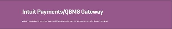 WooCommerce Intuit Payments QBMS Gateway 2.0.2 Extension