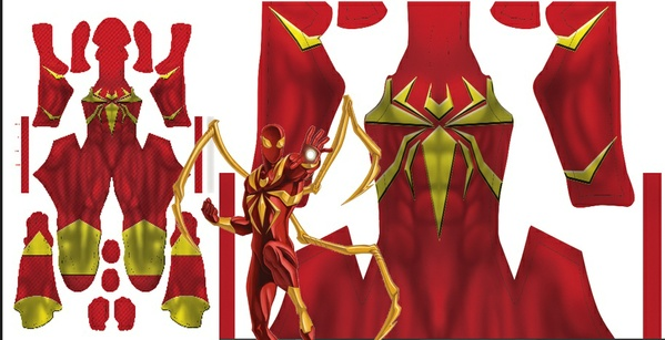 Iron spider (ULTIMATE SPIDERMAN WEB WARRIOR)