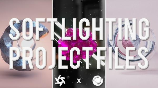 Soft Lighting Scene Kit - 3 Project files for Octane for C4D