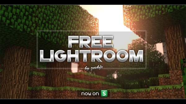 [FREE] Minecraft Lightroom V1 || by zeskfx
