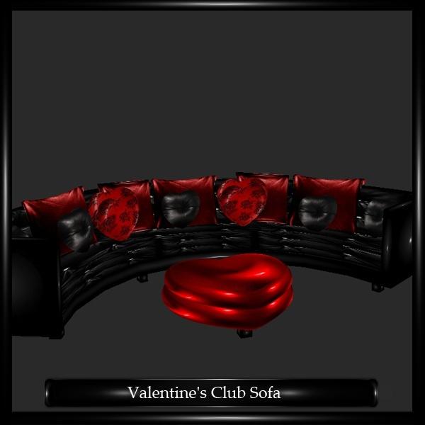Valentine's Club Sofa