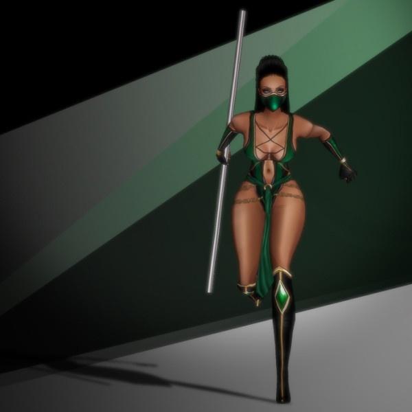 Halloween ~ Jade Costume