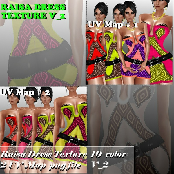 RAISA TEXTURE DRESS V_2