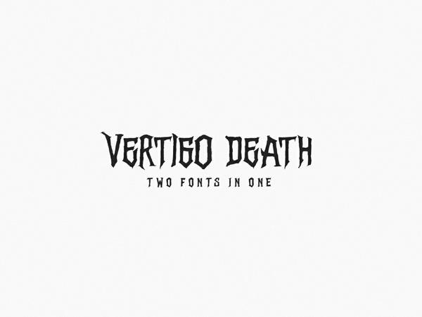 Vertigo Death - Font