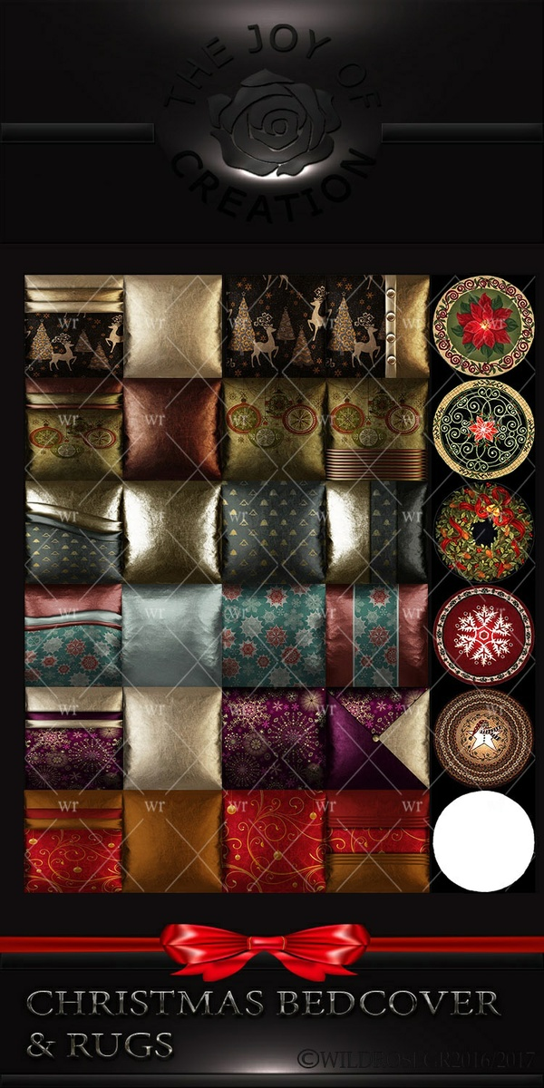 CHRISTMAS BEDCOVERS & RUGS