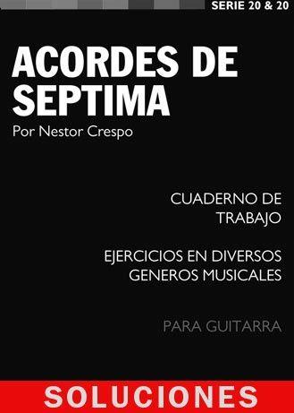 SOLUCIONES / Ejercicios Libro de Acordes de Septima