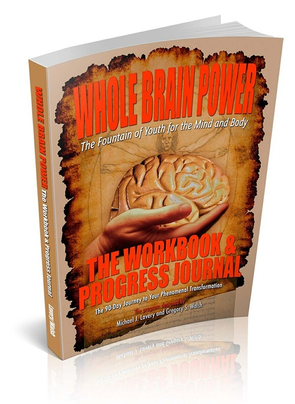Whole Brain Power: Workbook and Progress Journal