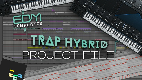 Ableton Live Trap Hybrid Template 13.04