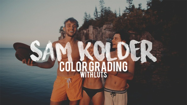 Sam Kolder Color Grading FREE LUT Pack