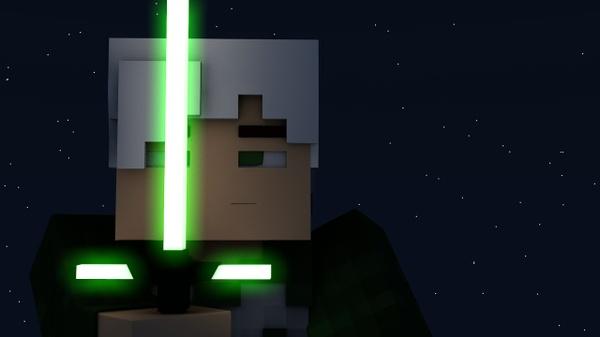 Minecraft Lightsaber Rig