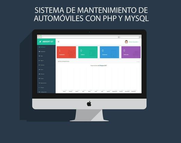 SISTEMA DE MANTENIMIENTO DE AUTOMÓVILES CON PHP Y MYSQL
