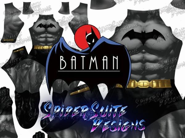 Classic Batman 2017 Pattern