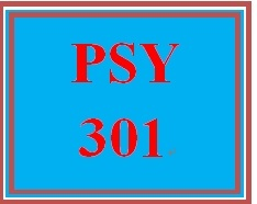 PSY 301 Entire Course