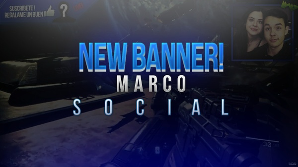 ¡¡NEW!! BANNER Y MARCO SOCIAL | YouTube Stream