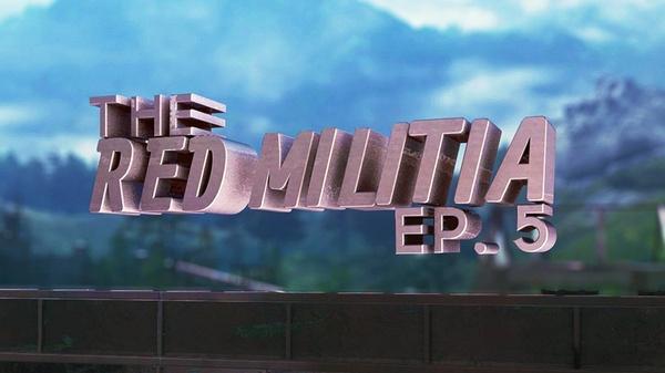 The Red Militia #5 PROJECT FILE (w/ C4D FILES & CINS)