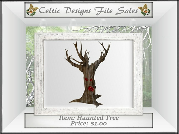 CD Haunted Tree Mesh