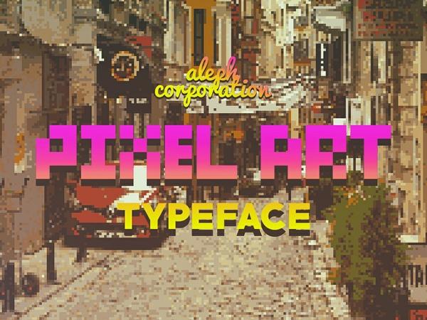 || P.I.X.E.L Type Face ||