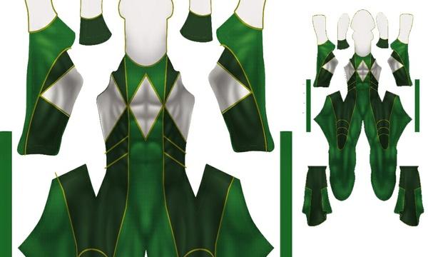 Green Ranger (MMPR 2015)