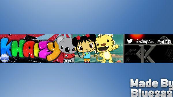 YouTube 2D Banner
