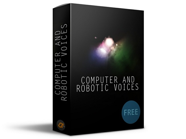 Computer and Robotic voices (Free SFX)