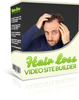 Hair Loss Video Site Builder (With MRR)