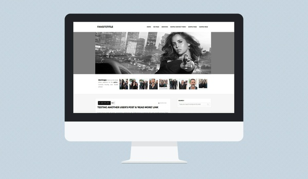 [R] Wordpress Theme #03