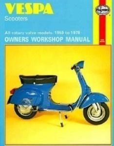 Vespa 1959-1978 Service Repair Workshop Manual